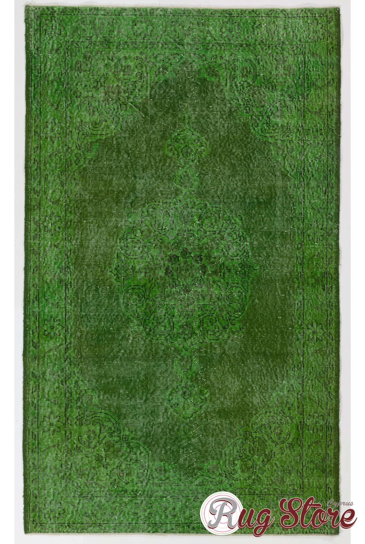 green color vintage overdyed handmade turkish rug green overdyed rug. Black Bedroom Furniture Sets. Home Design Ideas