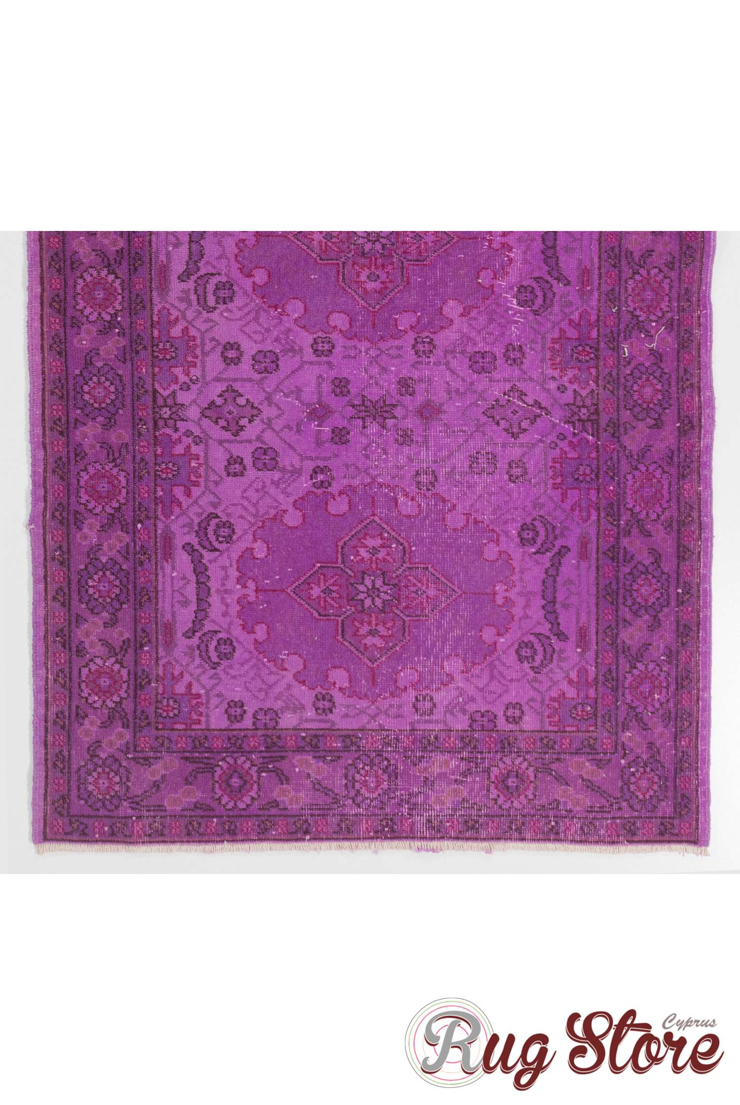 purple color vintage overdyed handmade turkish rug gray overdyed rug. Black Bedroom Furniture Sets. Home Design Ideas
