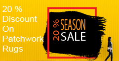 Summer Sale - discounts on Patchwork Rugs